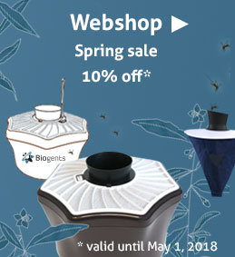 Biogents Webshop: spring sale 2018