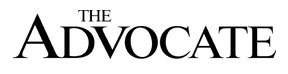 Logo The Advocate