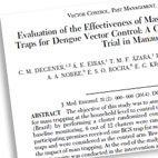 Publications about Biogents traps