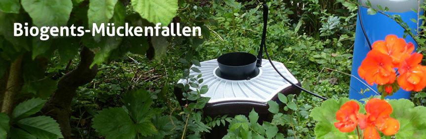 Terrasse und Garten genießen mit Biogents Mückenfallen
