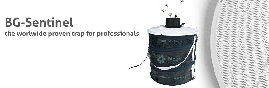 The BG-Sentinel - the worldwide proven mosquito trap for professionals