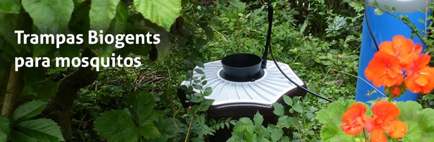Trampas Biogents para mosquitos