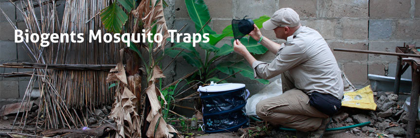 Biogents mosquito traps - eco-friendly and with scientific proof, example BG-Sentinel for professionals
